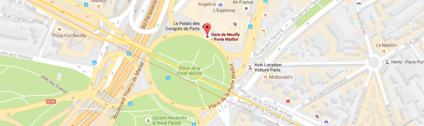 Les Bus de Roissy - Porte Maillot
